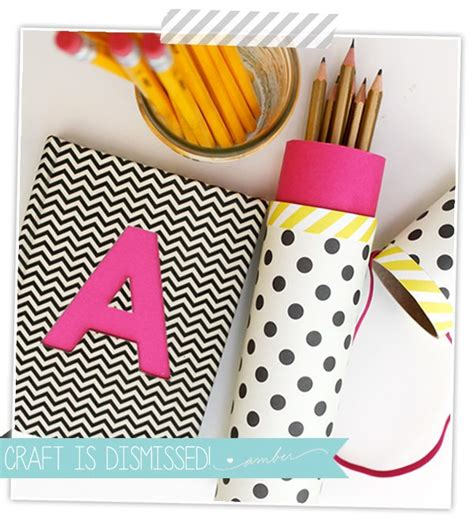 how to make a mail pencil damask