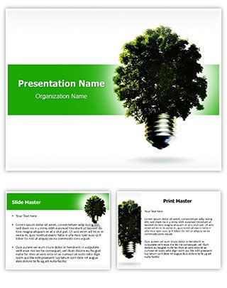 theme powerpoint 2010 environment professional green environmental energy editable