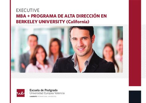 Executive Mba Northern California by Executive Mba Estema Escuela De Negocios
