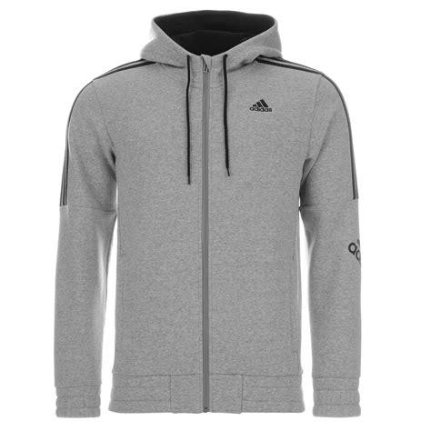Hoodie Zipper 3second adidas three stripe logo hoody zip hoodie sweatshirt casual fashion mens gents ebay