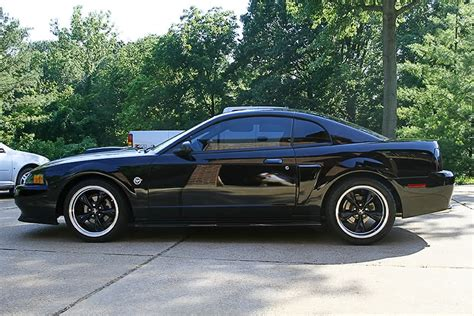 99 04 mustang gt wheels black 99 04 mustang with black bullitt wheels picture