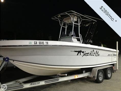 angler 204 boat angler 204 fx le in florida power boats used 29850 inautia