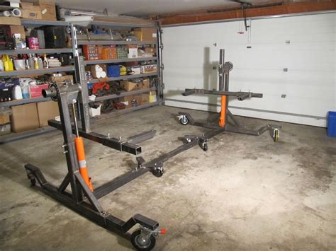 auto rotisserie build or buy motor castom pinterest welding projects cars and metals building a car rotisserie auto hobby