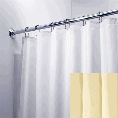 nylon curtains white 108 quot wide x 84 quot long hotel nylon fabric shower