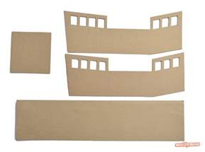 pics photos diy cardboard pirate ship by michelle