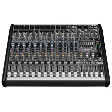 Mixer Lokal 16 Channel mackie profx16 16 channel professional effects mixer with usb