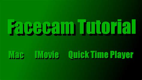 tutorial imovie indonesia how to add facecam to gameplay videos mac imovie q
