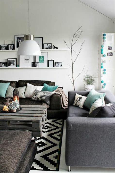 meuble avec canape gris