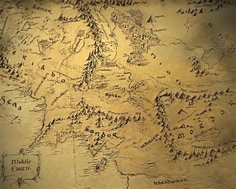 lord of the rings middle earth map waiting for a new hobbit explore maps of