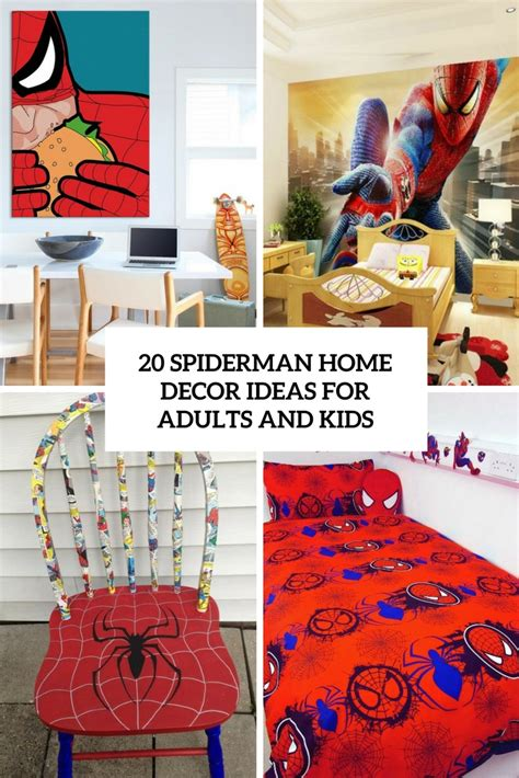 spiderman home decor geek decor archives shelterness