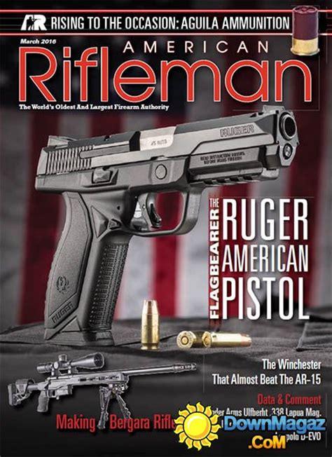 american rifleman march    magazines