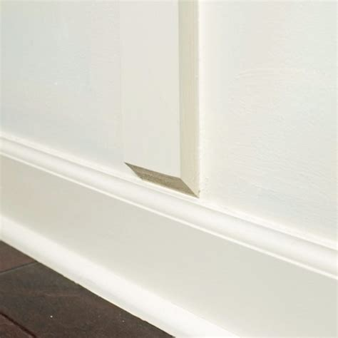 Wainscoting Without Removing Baseboard how to install board and batten without removing baseboards