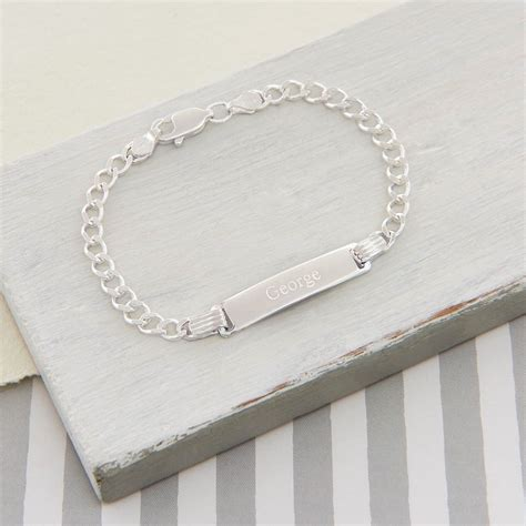 Tales From The Earth Silver Bracelet At Asos by Silver Boy S Id Bracelet Tales From The Earth