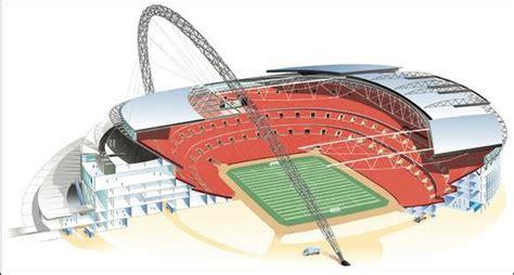 wembley stadium floor plan architectural information wembley stadium