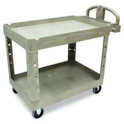 Rubbermaid Lighting Cart Shop Rubbermaid Commercial Products 39 In Utility Cart At
