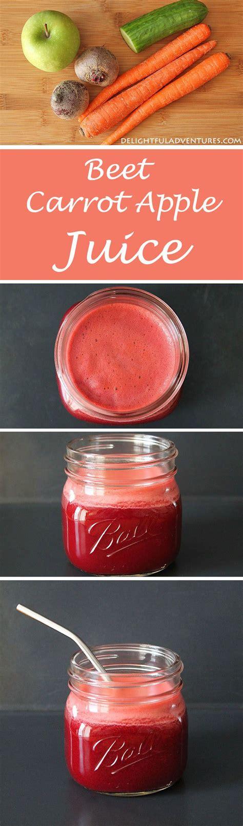 Carrot Apple Beet Juice Detox by Best 25 Detox Juices Ideas Only On