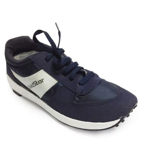 goldstar sports shoes goldstar blue synthetic leather sport shoes buy goldstar