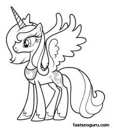 My Pony Coloring Pages Princess Free Coloring Sheets Printable My Little Pony Friendship Is Magic Princess Luna by My Pony Coloring Pages Princess Free Coloring Sheets