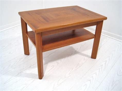 Teak Side Table Teak Side Table Mix Vintage