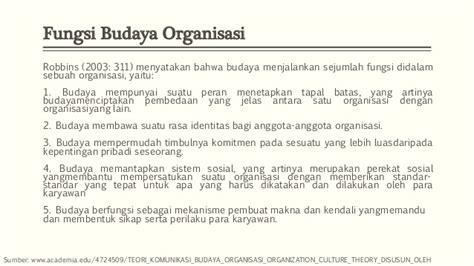 Teori Budaya Organisasi Taliziduhu Ndraha teori organisasi umum 2 budaya kreatifitas dan inovasi