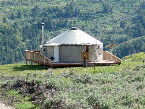 how s the view antelope yurt