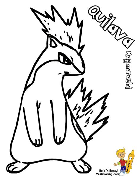 Pokemon Coloring Pages Quilava | pokemon quilava coloring pages images pokemon images