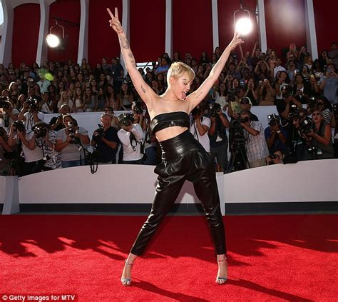 guest op ed was miley cyrus vma performance a parody worldnews miley cyrus makes triumphant return to mtv vmas a year