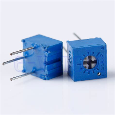 what does a variable resistor do 10pcs 10k ohm 3362p trim pot trimmer potentiometer 3362 p103 10k hm ebay