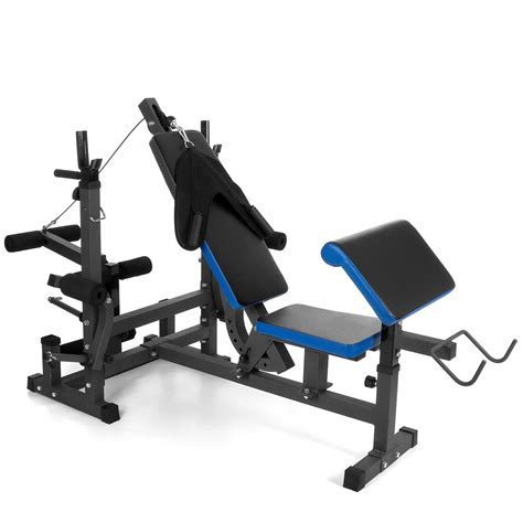 multifunctional exercise bench weight bench powerstation dumbbells fitnesscenter fitness