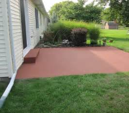 patio color colorpave color coating a concrete patio traditional