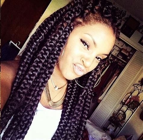 big braids jumbo box braids braids pinterest jumbo braids