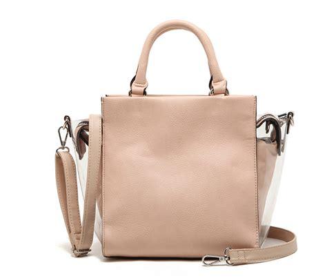 Best Quality Bag 2 original spain parfois 2 in 1 best quality pink smile portable handbag composite