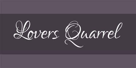 tattoo fonts lovers quarrel lovers quarrel font free by typesetit 187 font squirrel