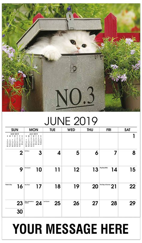 kittens promotional calendar  business advertising