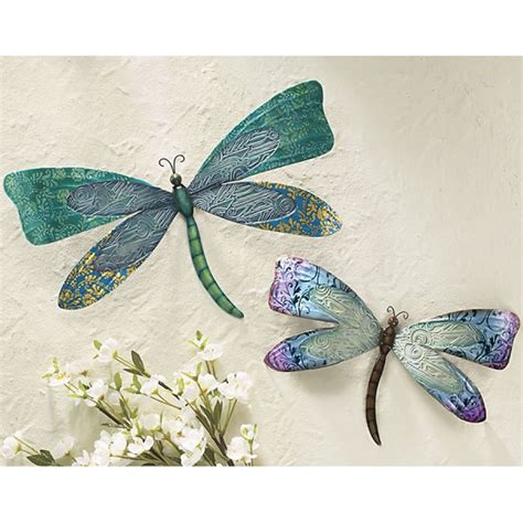 small dragonfly wall home decor