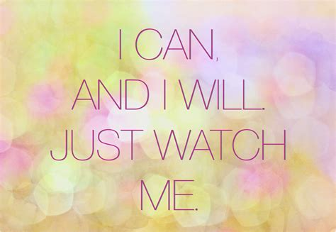 i can and i will me quotes quotesgram