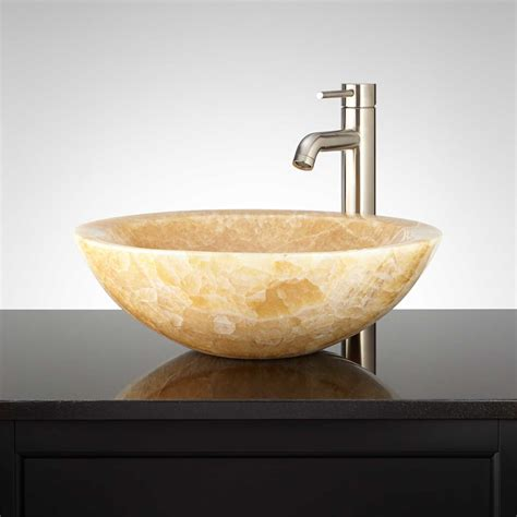 onyx bathroom sink onyx vessel sink signature hardware