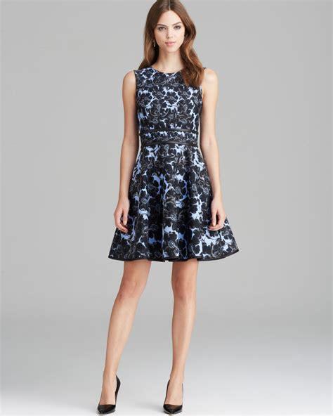 Cyntia Dress lyst cynthia rowley dress bonded floral