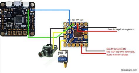 Foxeer F303 Wiring Diagram