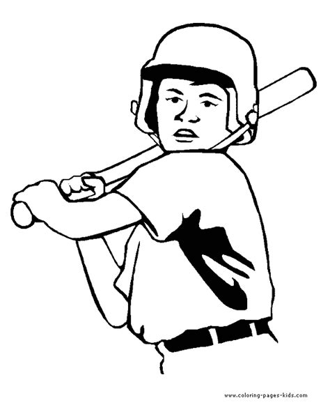 baseball color page sports coloring pages color plate baseball color page coloring pages for kids sports