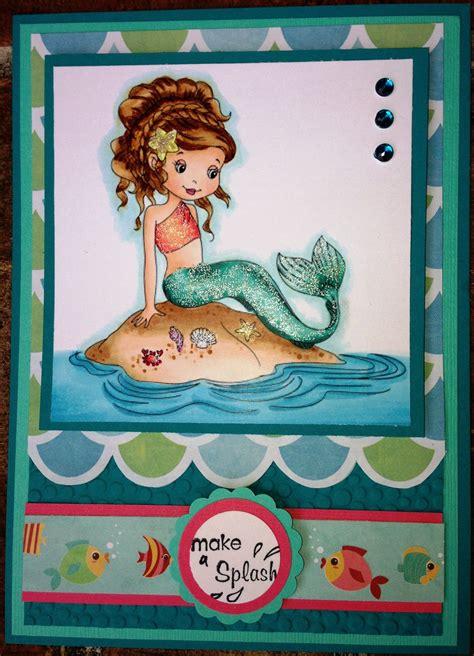 printable birthday cards mermaid mermaid card card ideas pinterest mermaid cards and