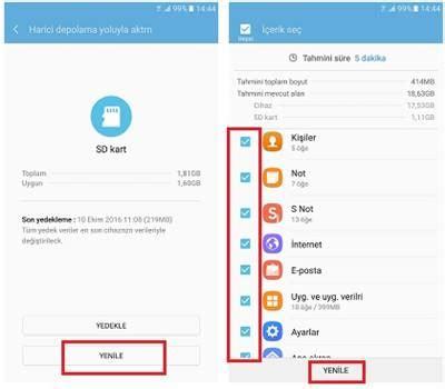 Usb Smart Hafiz smart switch 箘le verileri haf箟za kart箟ndan usb den geri y 252 kleme