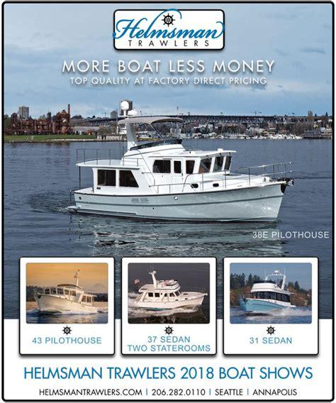 seattle boat show centurylink field january 25 blog helmsman trawler yachts