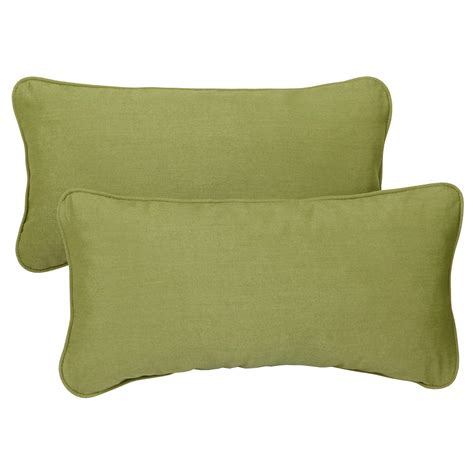 24 Inch Pillows by Mozaic Corded Indoor Outdoor Lumbar Throw
