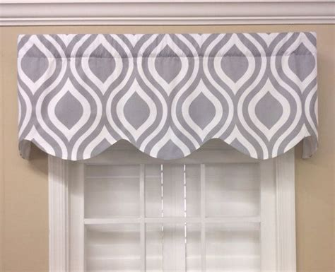 grey pattern valance 15 best images about geometric contemporary valances