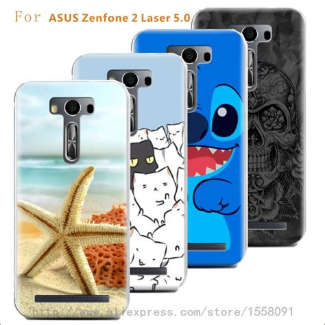 Cover Hp Asus Zenfone 2 Laser print transparency plastic back cover for asus zenfone 2 laser 5 0 protector cases