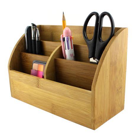 schreibtisch stifthalter bambus schreibtisch veranstalter mit stifthalter mail