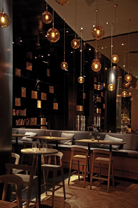 Zona Wine Bar And Restaurant By Heni Kiss And Pos1t1on Commercial Lighting Fixtures For Restaurants