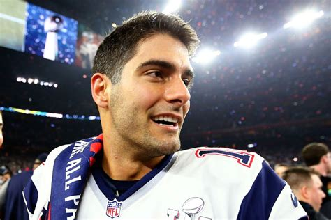 Real Pict Jimya jimmy garoppolo and the patriots may be the real winners in tony romo s retirement sbnation