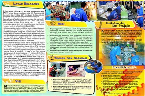 desain brosur sekolah sederhana contoh desain brosur universitas desain grafis